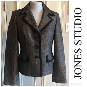 Jones Studio Separates Metallic Blazer
